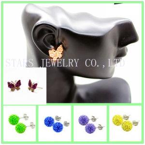 StarsJewelry Clay Crystal/Rhinestone Stud Earring
