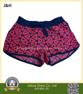 Printed Twill Micro Fiber Women′s Hot Summer Beach Wear