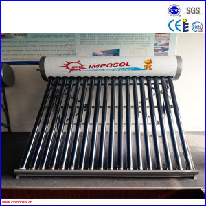 OEM Stainless Steel Non Pressure Top Quality Portable Solar Heater pictures & photos