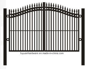 Factory Wrought Iron Decorative Garden Arch Fence Gate pictures & photos
