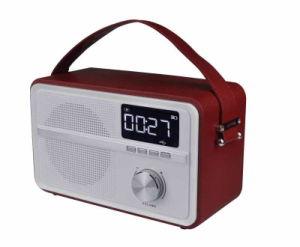 Bluetooth Speaker Wood USB TF FM Radio