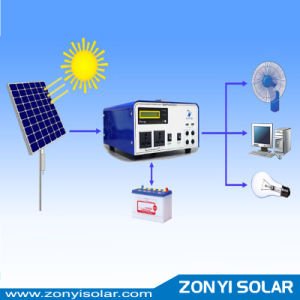 300W 600W 1000W off Grid Portable Solar System for Home pictures & photos