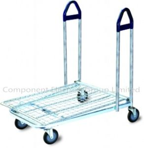 Warehouse Logistic Cargo Trolley, Flat Trolley pictures & photos