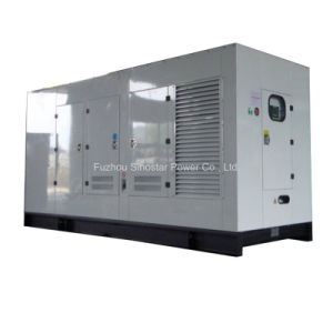 350kVA 280kw Volvo Penta Soundproof Diesel Generator Set