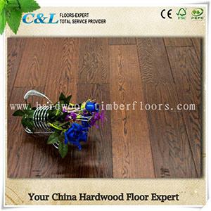 Wide Plank Antique Oak Engineered Flooring