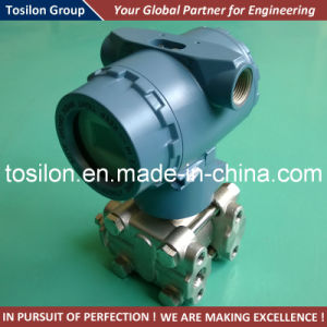 Differential Pressure Type Air Pressure Transmitter with Manifold pictures & photos