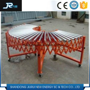 Carbon Steel Galvanized Motorized Gravity Roller Conveyor for Logistics Systems pictures & photos