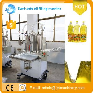 Full Automatic Cooking Oil Filling Production Equipment pictures & photos
