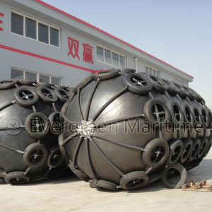 ASTM and ISO 17357 Certified Pneumatic Rubber Fenders for Quay, Ships, Oil Tankers, Oil Platform pictures & photos
