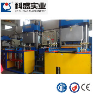 250ton Flat Suspension Double Working Station Rubber and Silicone Molding Machine pictures & photos