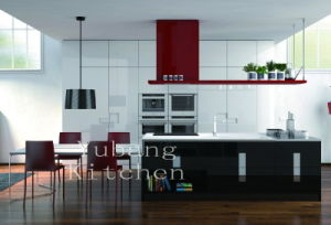 Lacquered Kitchen Cabinet (Kitchen #M2012-9) pictures & photos