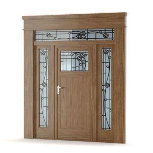 100% Wooden Fire Door for Enterance pictures & photos