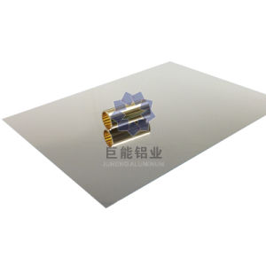 Raw Mirror Aluminium Sheet for Lamp / Nameplate/ Cosmetic (R6200)