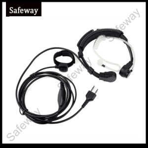 Walkie Talkie Adjustable Throat Microphone for Midland pictures & photos