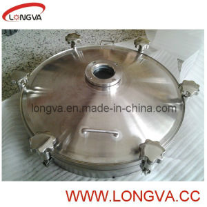 Stainless Steel Manhole Cover with Flange Sight Glass pictures & photos