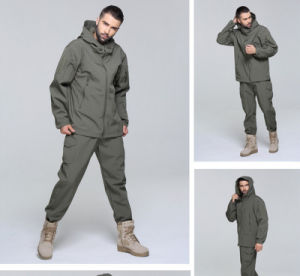 Custom Outdoor Windproof Water Proof Long Sleeves High Quality Men′s Suit Jacket pictures & photos