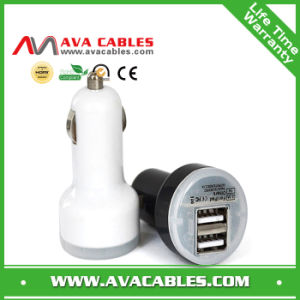 2.1A Dual USB Port Car Charger with CE Certificate