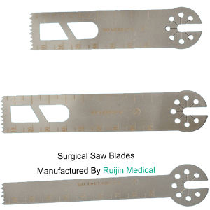 Orthopedic Stainless Steel Saw Blades for Medical Power Tools Saws pictures & photos