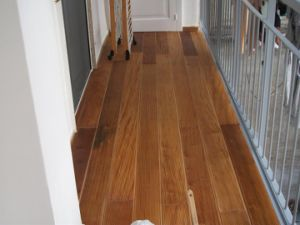 Choice Material T&G System Wood Balcony Decking pictures & photos
