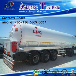 59.7 Cbm 3 Axles LPG Tank Trailer for Sale pictures & photos
