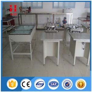 Manual Suction Silk Screen Printer for Fabric Printing pictures & photos