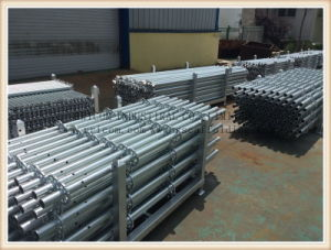 Glalvanized Ringlock System Scaffolding Standards pictures & photos