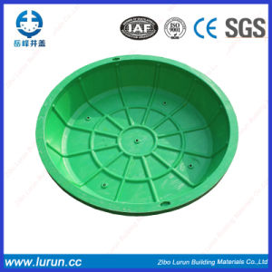 BMC Resin Greening Manhole Cover for Lawn pictures & photos