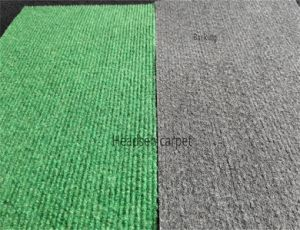 Non Woven Rib Exhibition Carpet, Velour Carpet with Latex Backing pictures & photos