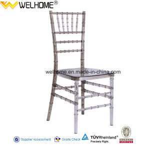 Smoke Color Resin (Polycarbonate) Chiavari Chair for Wedding/Party/Event pictures & photos