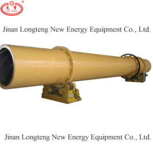 Longteng Wood Sawdust Rotary Drum Dryer for Drying The Wood Pellet