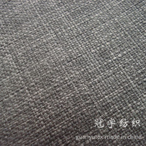Imitated Linen Sofa Fabric with Compound Backing pictures & photos