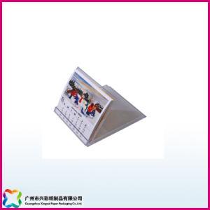 Fashion Desktop/Table/Desk Calendar with Plastic Holder (xc-8-008) pictures & photos