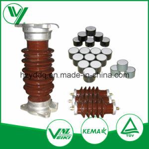 High Voltage Ceramic Zinc Oxide Surge Arrester pictures & photos
