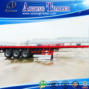 40ft Container Semi Trailer, Carry One 40ft Container or 2X20ft Container Trailer pictures & photos