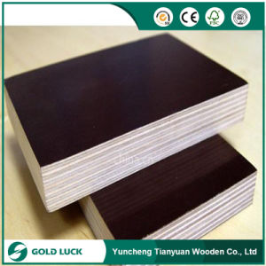 Good Quality Building Wood Board Shuttering Marine Film Faced Plywood pictures & photos