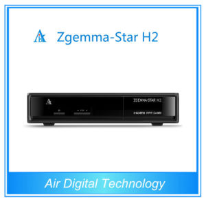 Super Value Zgemma-Satr H2 Twin DVB-S2 DVB-T2 Set Top Box pictures & photos