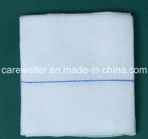Sterile Absorbent Cotton Gauze Swab/ Gauze Pad with/Without X-ray pictures & photos