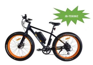 26 Inch PAS Electric Bike Fat Tire Snow Motorbike Moped Fat Bikes (JB-TDE0Z) pictures & photos