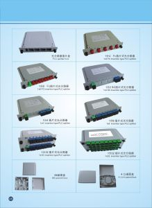 1X16PLC Splitter for FTTH Fiber Optic Distribution Box pictures & photos