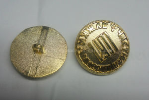 New Design Cuff Links Cuff Button Gold Cufflinks with Customized Logo pictures & photos
