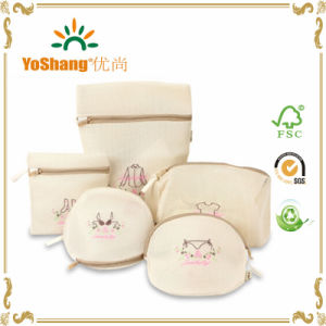 5PCS/Set High Quality Embroidery Bra Washing Bag Mesh Laundry Bag Travel Packing Bags for Lingerie Shirts Socks pictures & photos