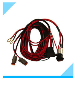 Factory Custom Rigid Industries Dual Light Wire Harness for Car pictures & photos