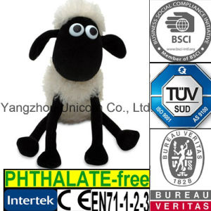 CE Soft Stuffed Animal Shaun the Sheep Plush Toy