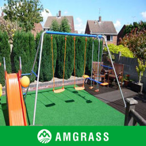 V Shape Anti-UV Landscaping Synthetic Grass (AMV426-25D) pictures & photos