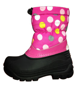 Girls TPR Snow Boots pictures & photos