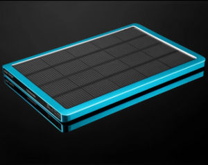 Wholesales10000mAh Solar Power Banks for iPhone5 with Factory Price External Portable Power Bank pictures & photos