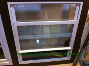Aluminium Vertical Sliding Sash Windows, White Powder Coating pictures & photos