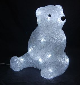 Acrylic Bear Light with LED (IL 1220) pictures & photos