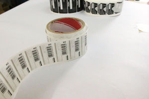 Pirnted Paper Adhesive Sticker PVC Self-Adhesive Label (Z034) pictures & photos