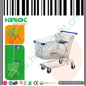 Metal Shopping Barrow for Supermarket pictures & photos